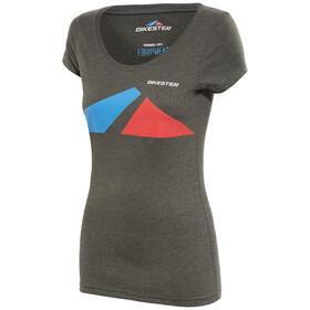 Bikester Classic Logo naisten t-paita, harmaa